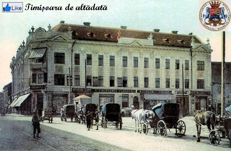 Timisoara - 1908 - Palatul Contesei Mirbach ( Pta Traian )