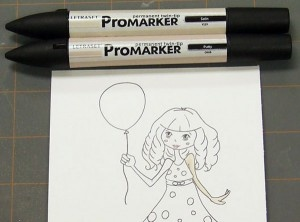 TUESDAY TUTORIAL – COLORING WITH LETRASET PROMARKERS 101