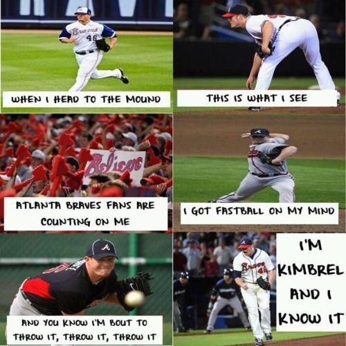 <3 Braves <3: Bravesbaby, Braves Baby, Braves Stuff, Braves Country, Craigkimbrel, Braves Baseball, Atlanta Braves, Boy