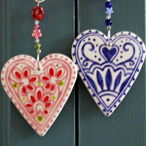 Love Hearts...especially the blue!
