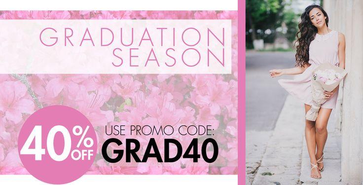 Graduation Hair Extension Sale