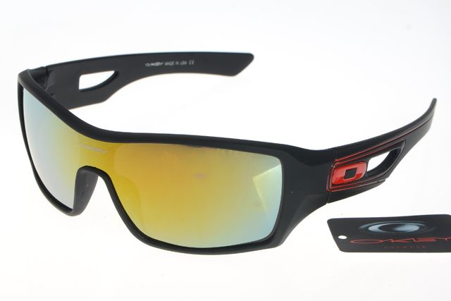 Oakley Dispatch Sunglasses Black Frame Colorful Lens 0292
