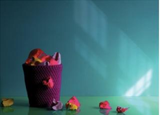 The Bright Things #neon #pink #yellow #brights #larahutton #jasonloucas #styling #interiors