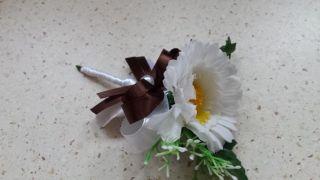 Svadobné pierko mini slnečnica