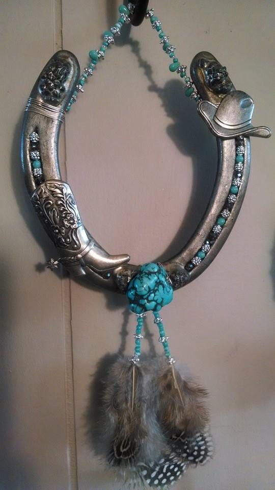 Western Horseshoe art for sale See more by liking Betty's Barn on Facebook https://www.facebook.com/BettysBarn