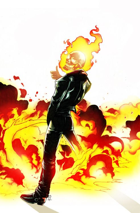 Ghost Rider peeing by Nolife Edi