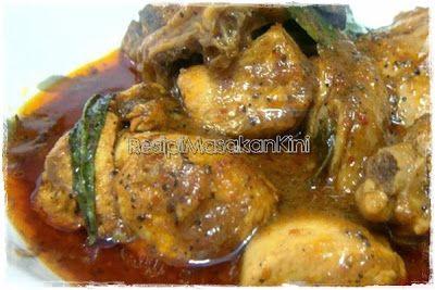 Resepi Asam Pedas Ayam Lada Hitam   ResipiMasakanKini™   Koleksi Resipi Masakan Myresipi Online