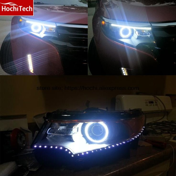 Aliexpress.com: Comprar Ultra brillante SMD LED blanco 1600LM 12 V kit anillo de halo angel eyes para Ford Edge 2011 2012 de angel eyes fiable proveedores en HochiTech Store