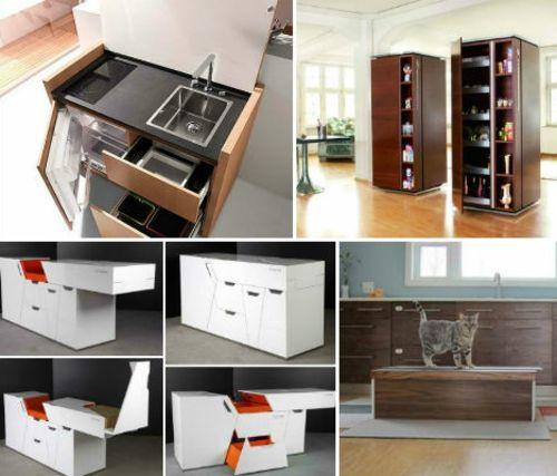 Sehen Sie Mobile, Modulare, Mini Küchen. Wenn Sie Gerade Ihre Küche  Renovieren Und Keinen Platz Haben, Einfache Speisen Zuzubereiten.