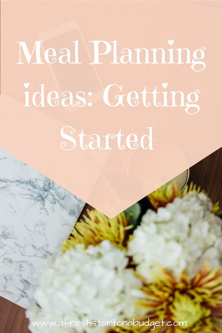 Do you need meal planning ideas. Here are some meal planning Ideas to help get you started with the process so that you can plan meals in your home.