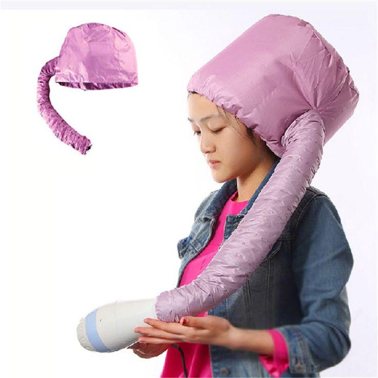 Hoge Kwaliteit Draagbare Soft Hood Bonnet Attachment Haarverzorging Salon Thuis Föhn Styling Tool Gratis Verzending