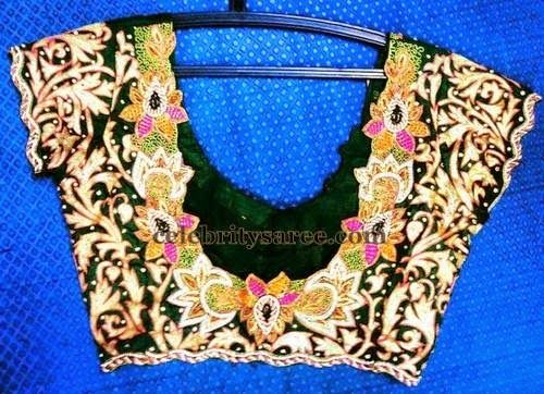 Rich Work Blouses in Black | Saree Blouse Patterns