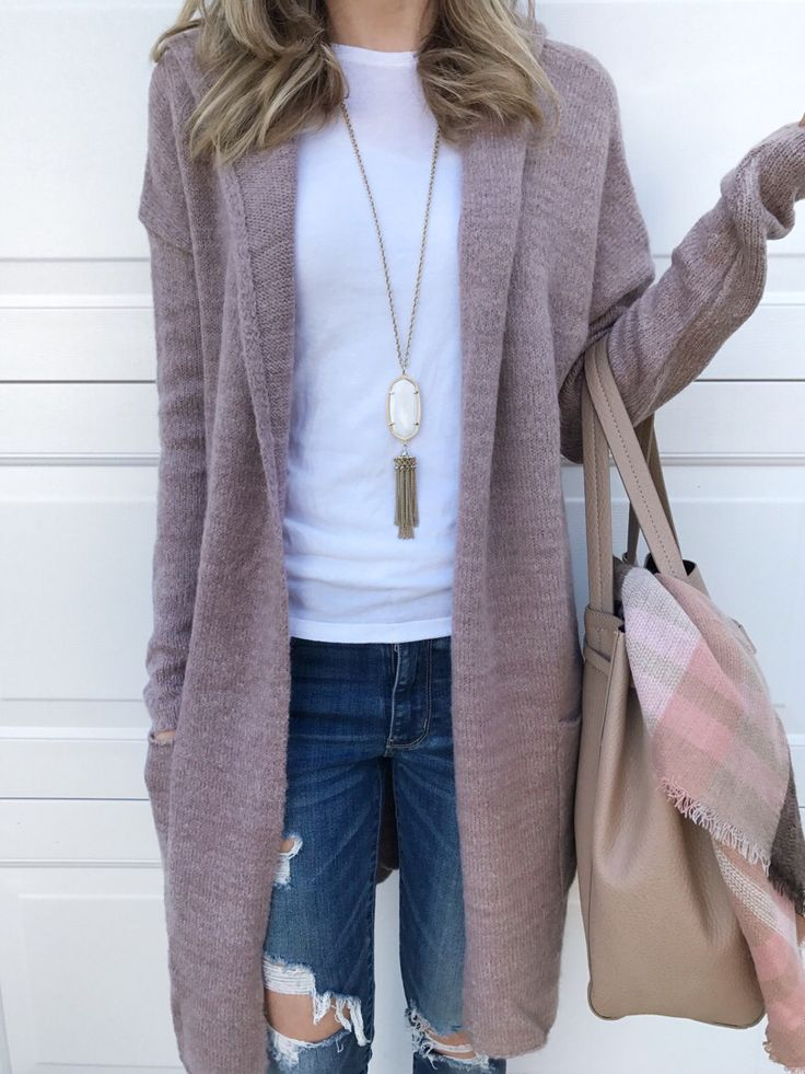 Neutral cardigan perfect for layering your outfit