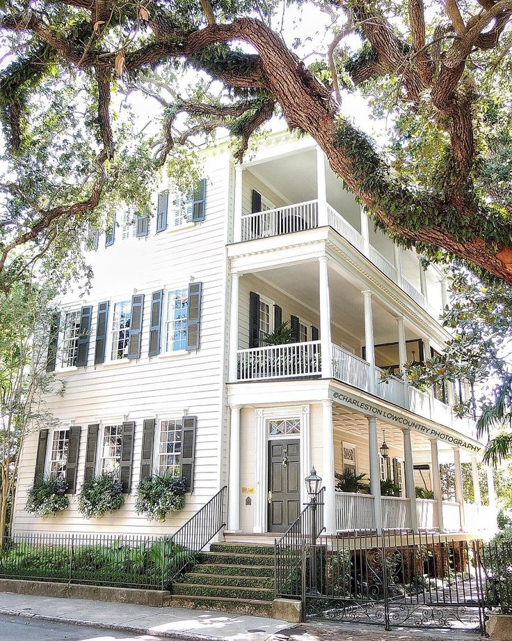Lowcountry Carriage House: Entrance Doors, Exterior Homes And Front Doors