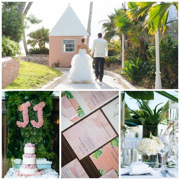Luxury destination wedding at Fairmont Southampton, Bermuda Resort | Destination wedding locations and venues (Alexander Masters)
