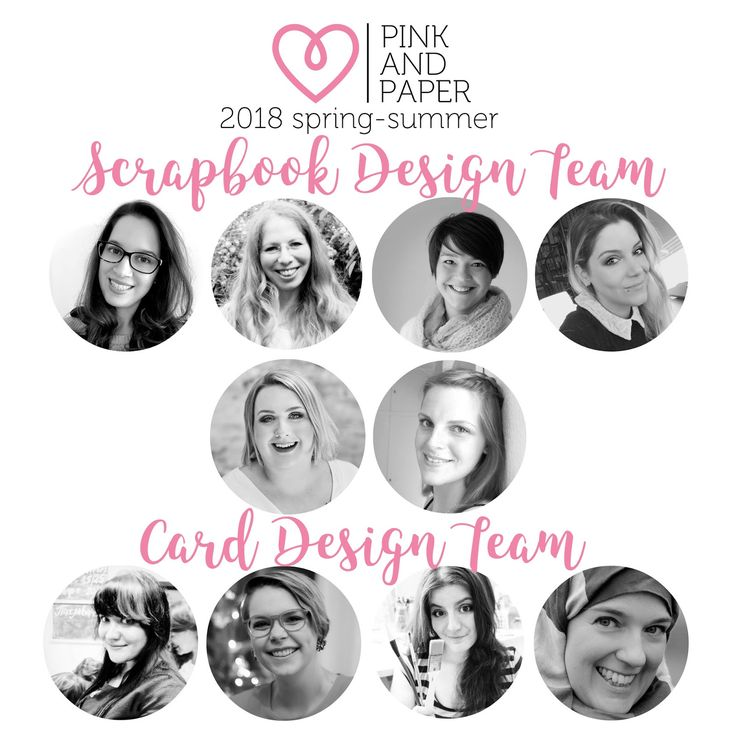 Hello Pink and Paper 2018 Spring-Summer Design Team