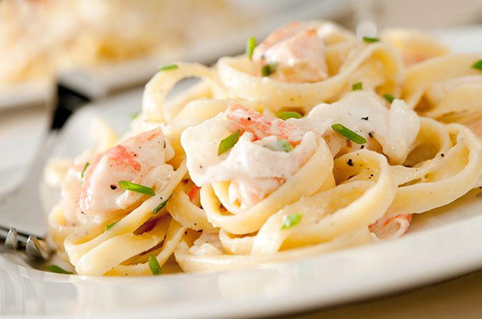 Паста с лососем и сливочным соусом 5 вкусных блюд, на приготовление которых уйдет 15 минут  Записываем рецепты быстрых, легких и необычайно вкусных ужинов