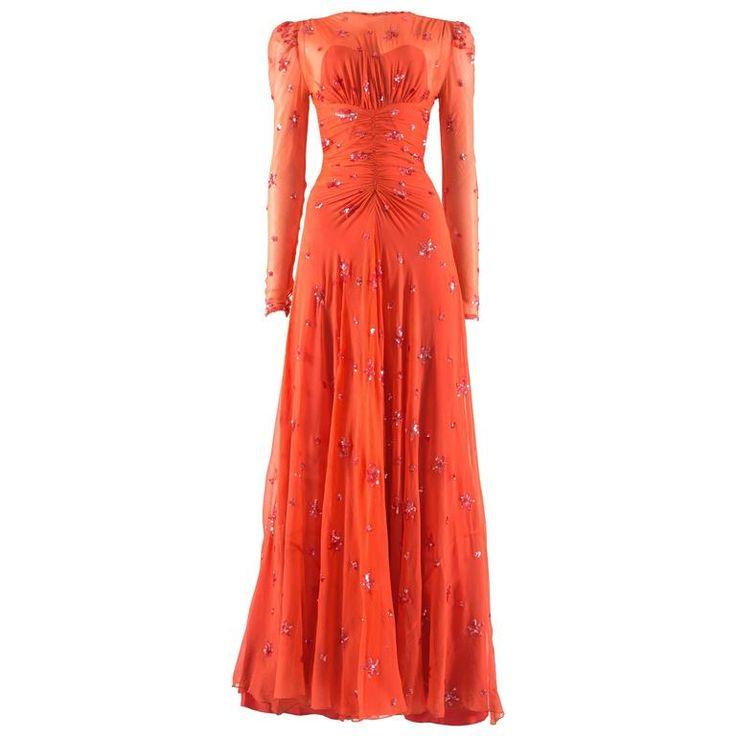 1445 Best 1930's Evening Dresses Images On Pinterest