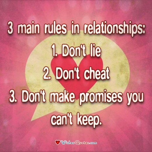 Dating rules don't call him