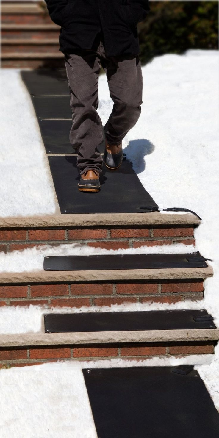 Best Heattrak Heated Mats Melt Snow Automatically Giving Your 640 x 480