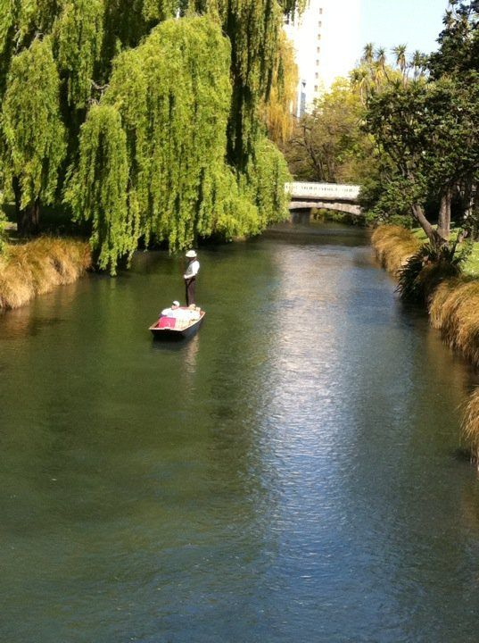Punting On The Avon in Christchurch