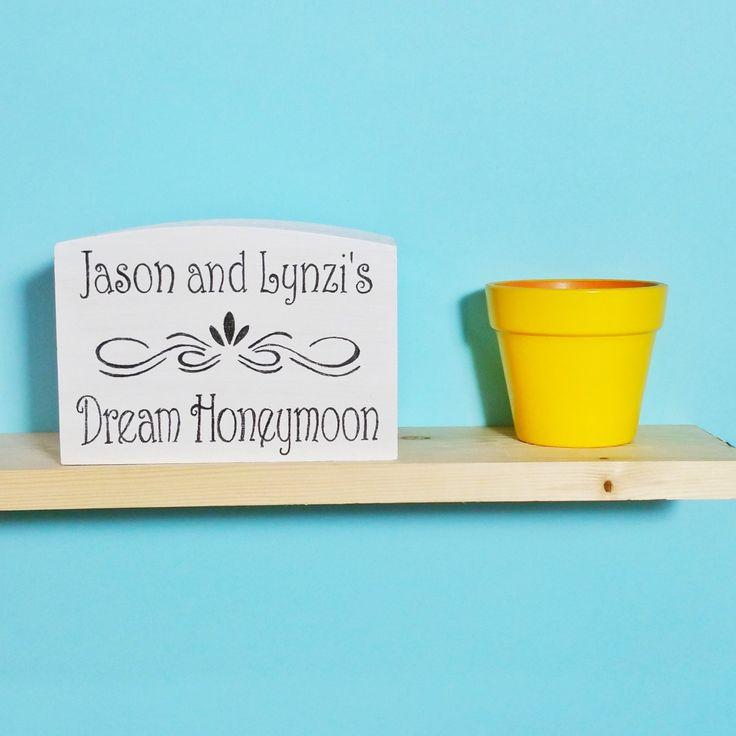 Personalised Honeymoon Money Box