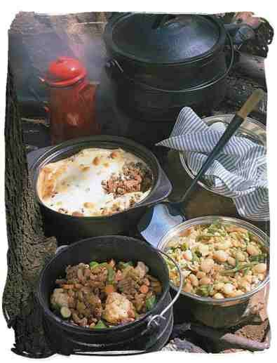 Potjie kos --- more recipes