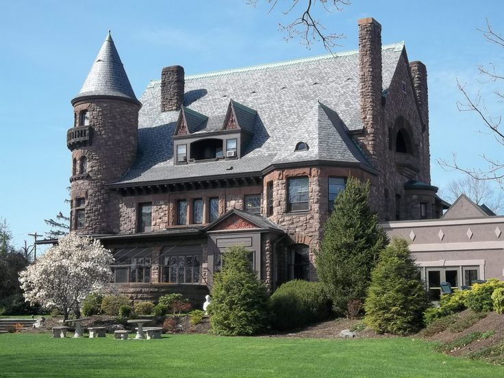 Belhurst Castle, Geneva NY - too bad they added a hotel to it!  It was a beautiful unique place to stay.