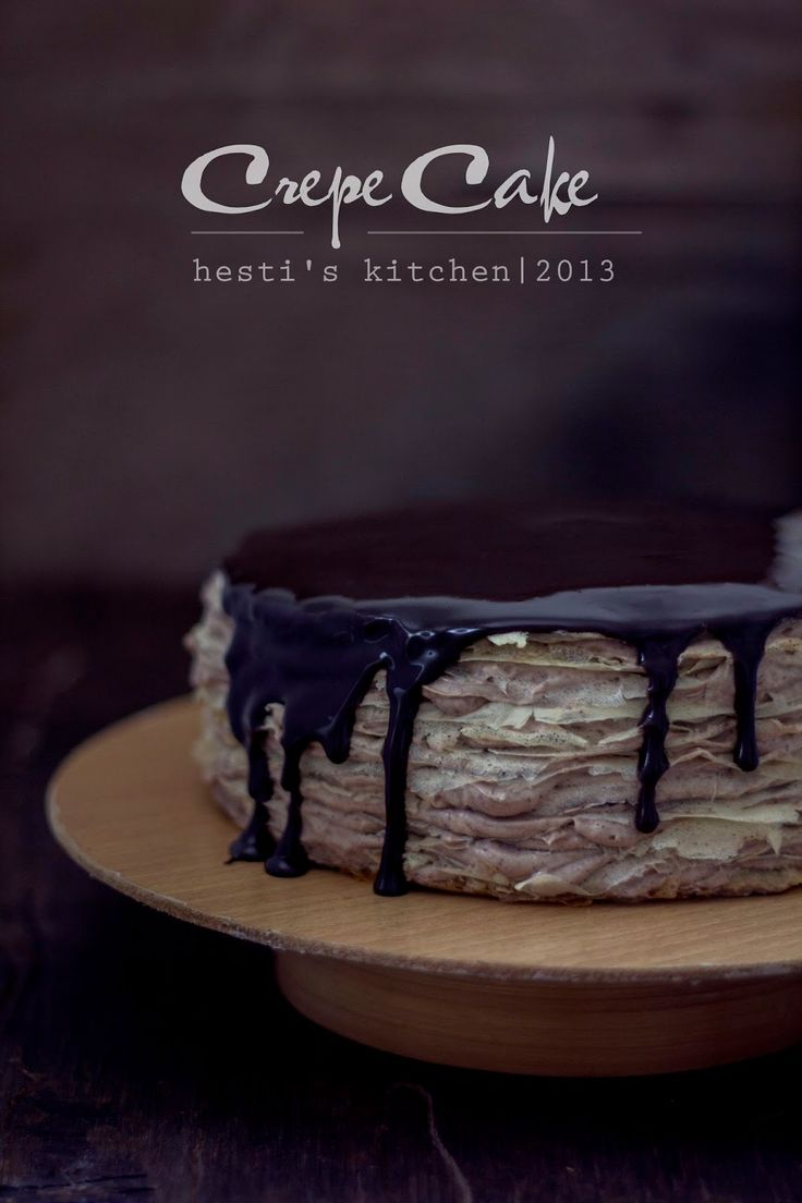 HESTI'S KITCHEN : yummy for your tummy: My First Crepe Cake...