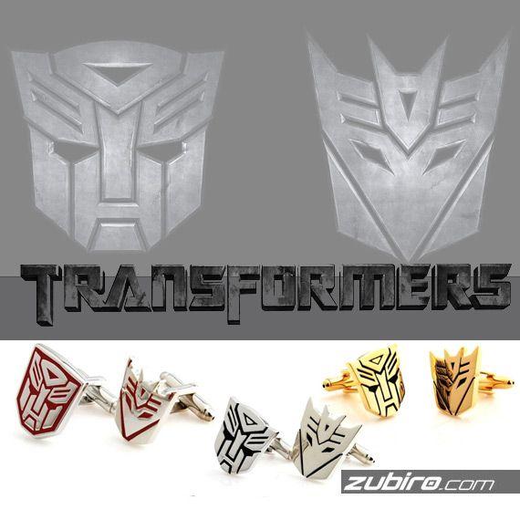 Już dostępne! Decepticons i Autobots w trzech różnych kolorach do wyboru. Który Ty wybierzesz? Spinki męskie TRANSFORMERS: http://zubiro.com/listaProduktow.php?dbFin=transformers&szukaj=+&kat=0&idz=