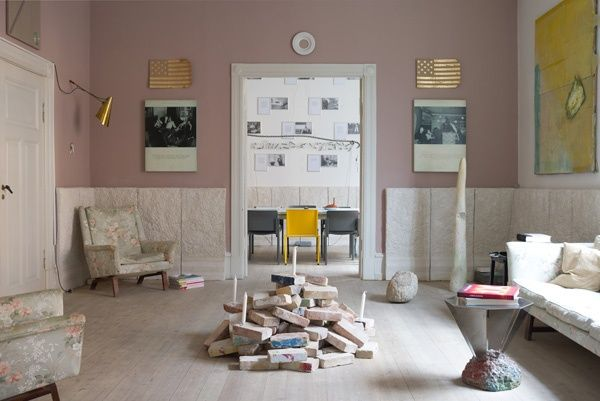"""Mathias & Mathias """"Fine and Dandy Symposion"""" installation view at Peter Amby Gallery (off space apartment), Copenhagen, 2014"""