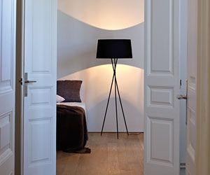 49 besten lampen bilder auf pinterest lampen schwarzer und stehlampe schwarz. Black Bedroom Furniture Sets. Home Design Ideas