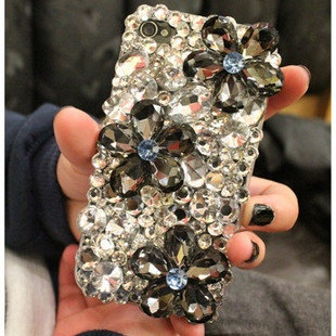 Bling Back Case For Iphone 234 HTC MOTOROLA SAMSUNG by minifun, $34.99