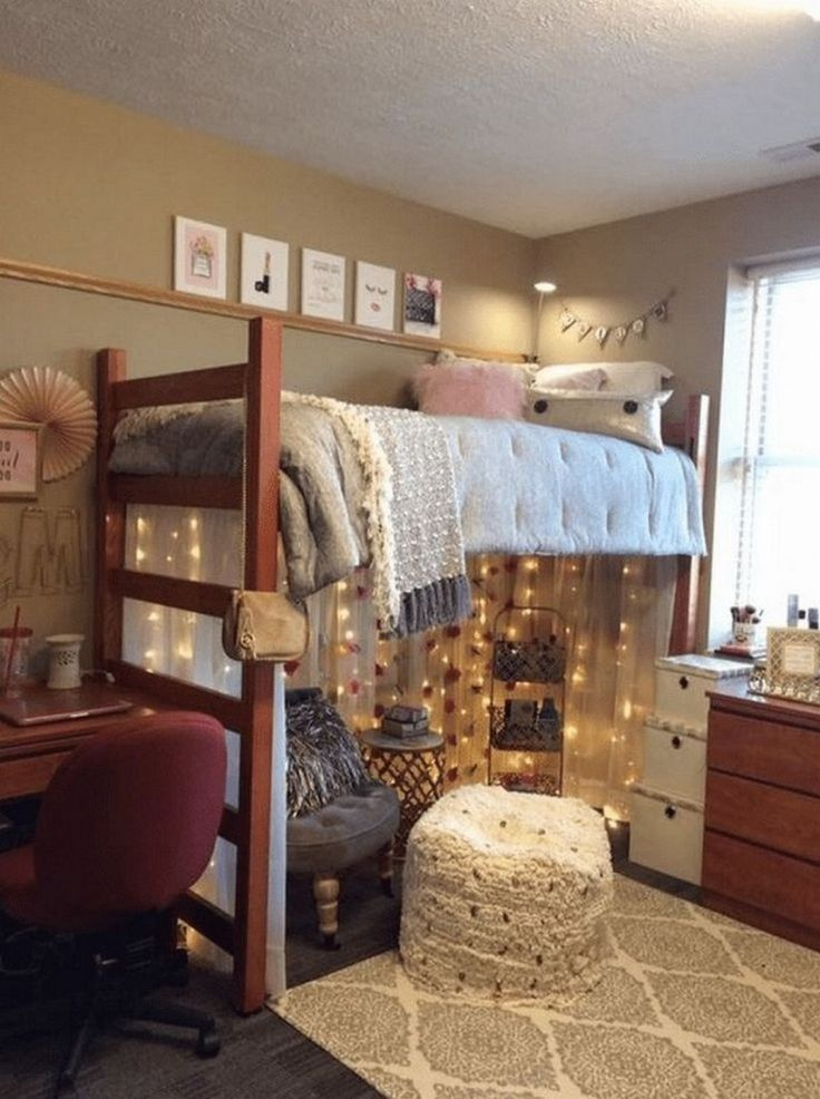 68 cute dorm room ideas that you will need to copy 63 - College dorm room ideas examples ...