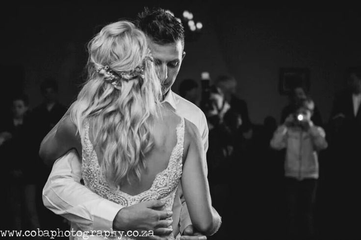 First dance... lovely intimate shot