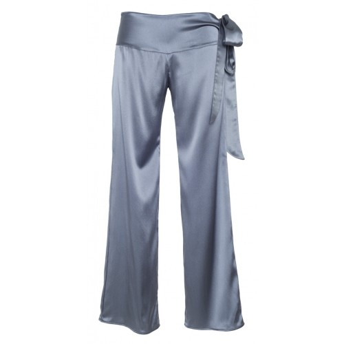 Silk yoga graphite trousers from MC Lounge AW12 collection