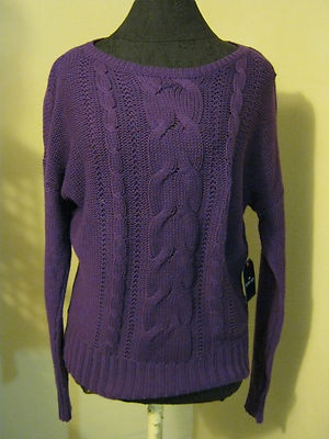 Comfort clothing! Gorgeous purple sweater!