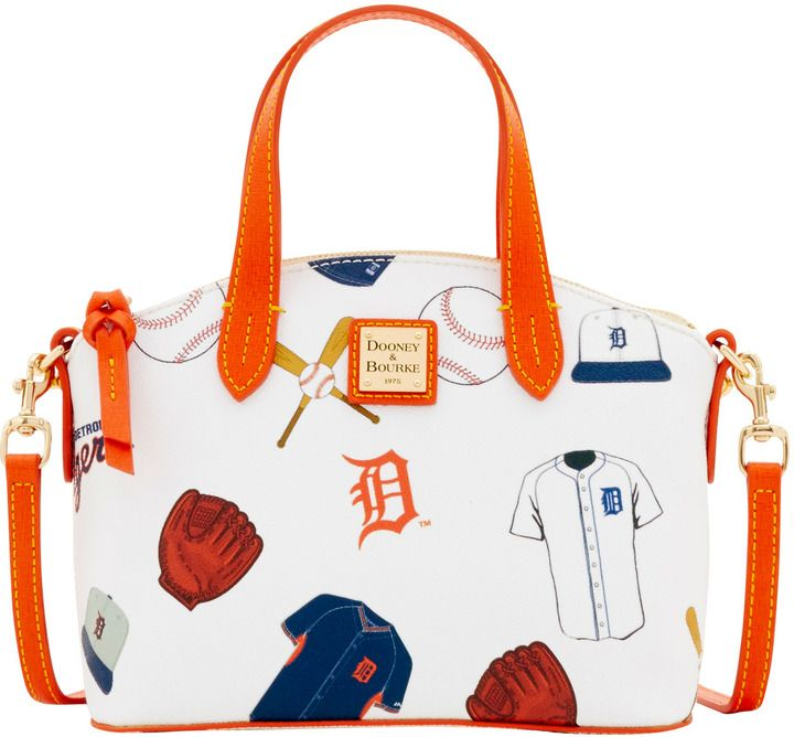 Dooney & Bourke MLB Tigers Ruby Top Handle Bag