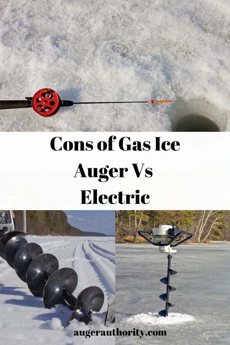Why Not Buy A Gas Ice Auger In 2020 Gas Electricity Augers