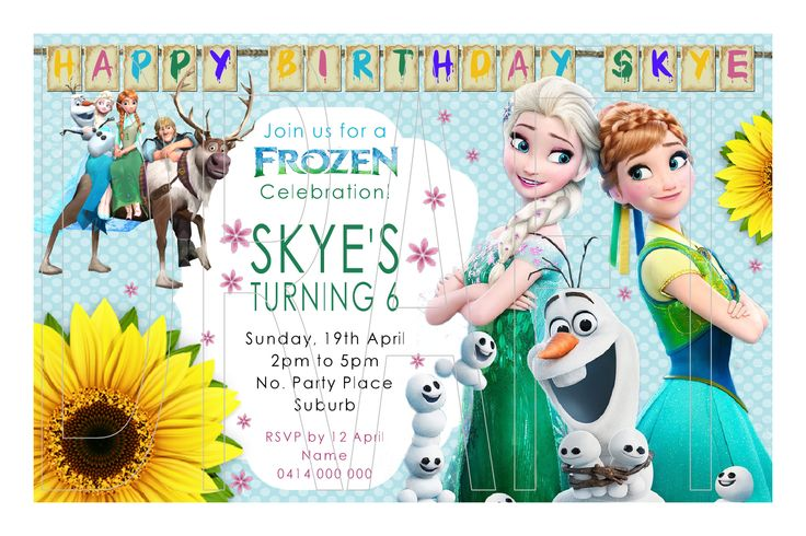 Frozen Fever Invitations - Personalised Birthday Invitations - We personalise and you print! Purchase JPEG File for only $5.   Step 1: Message or email all relevant party information to scrapart@optusnet.com.au  Step 2: We will personalise and email a watermarked draft to you within 24 hours for approval as well as a PayPal invoice for $5  Step 3: Once approved & payment cleared, we will email you the JPEG file ready for you to print!