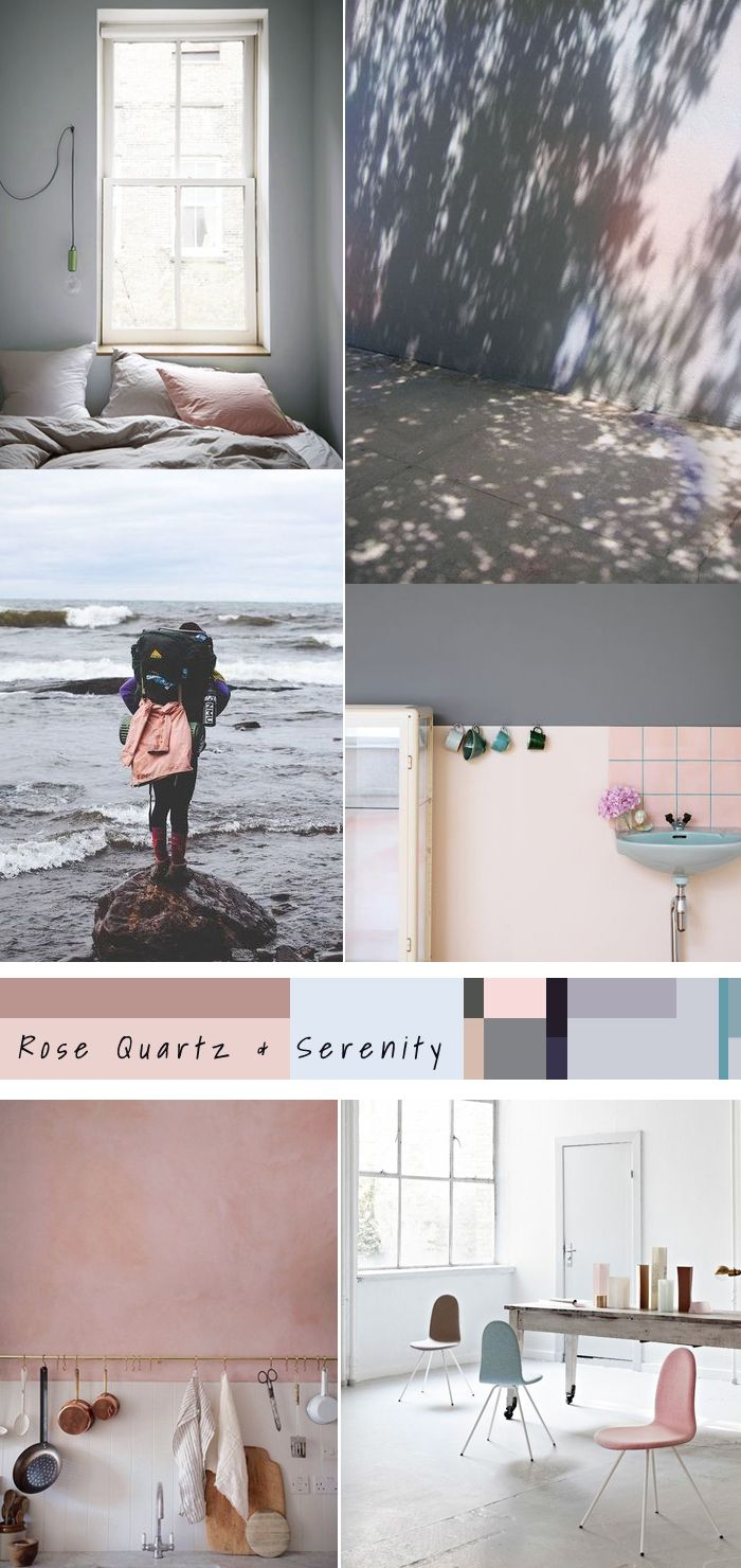 pantone 2016 rose quartz serenity olive the fox. Black Bedroom Furniture Sets. Home Design Ideas