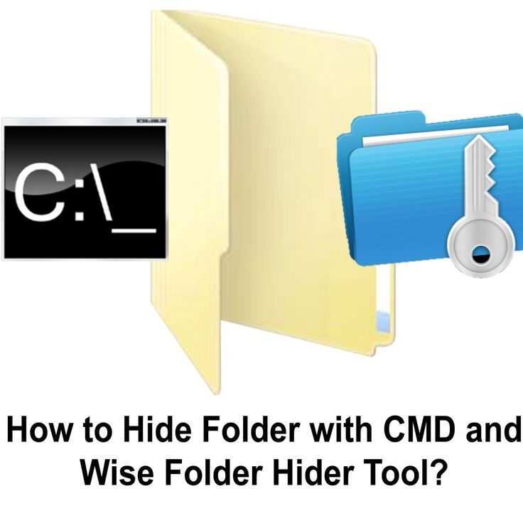 How to hide folder with Command Prompt (CMD) and by using Folder Lock Software? Visit the post to learn !  http://www.tipsandarticles.com/how-to-hide-folders-with-command-prompt-and-by-using-software/
