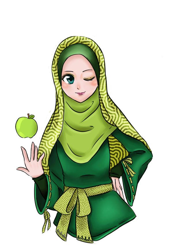 Applemints Hijab by diddywut.deviantart.com on @deviantART