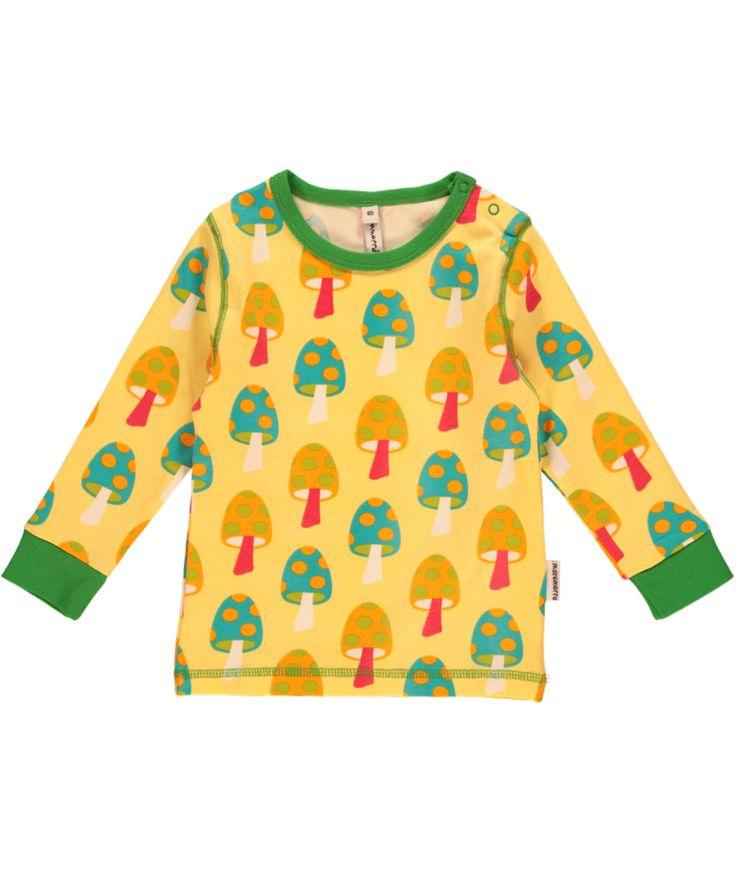 Chirpy little long-sleeved top in organic cotton from Sweden's Maxomorra. Free postage over £30 or visit us in sunny Lyme Regis.