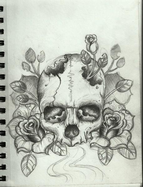 Beautiful Sugar Skulls Drawings Beautiful sugar skull ...