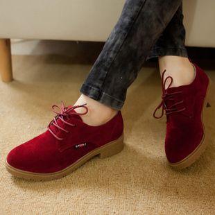 Nueva llegada 2016 primavera y otoño mujeres de Oxfords de lona moda Oxfords mujeres talón plano Casual zapatos para mujeres envío libre
