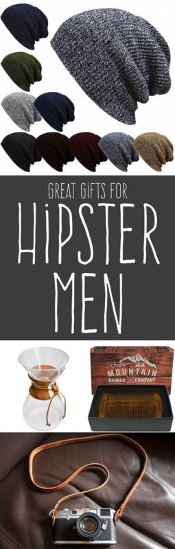 Great Gifts for Hipster Men ~ Looking for gifts for a hipster guy this Christmas season? While he may say he doesn't want anything (which would be totally hipster of him), he'll be thankful that you put some thought into finding these gifts! | #Ad