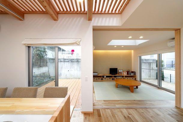 CASE 172 | つながりを大切にした住宅(兵庫県神戸市) |ローコスト・低価格住宅 | 注文住宅なら建築設計事務所 フリーダムアーキテクツデザイン