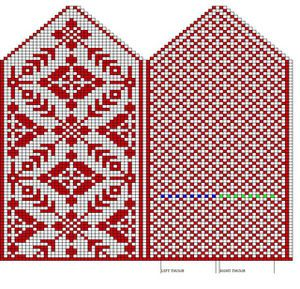 海外:ミトンの編み込み図のまとめ【レベル中級以上】 - NAVER まとめ