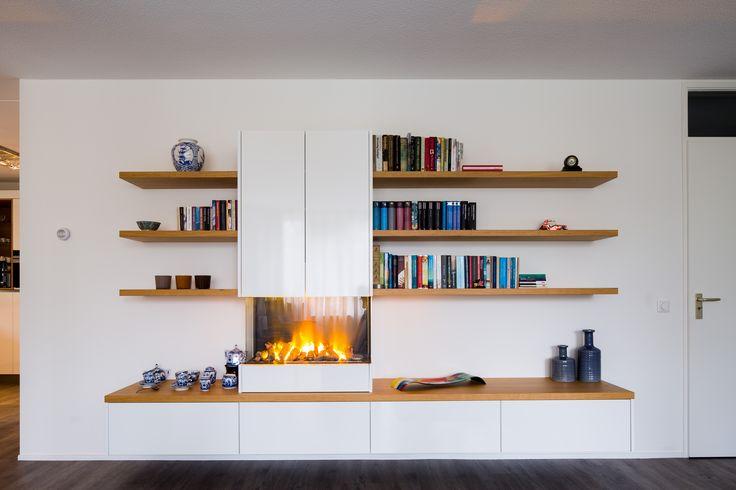 Hoogglans panelen geven een uniek effect aan een interieur. Mooi, glanzend en authentiek.